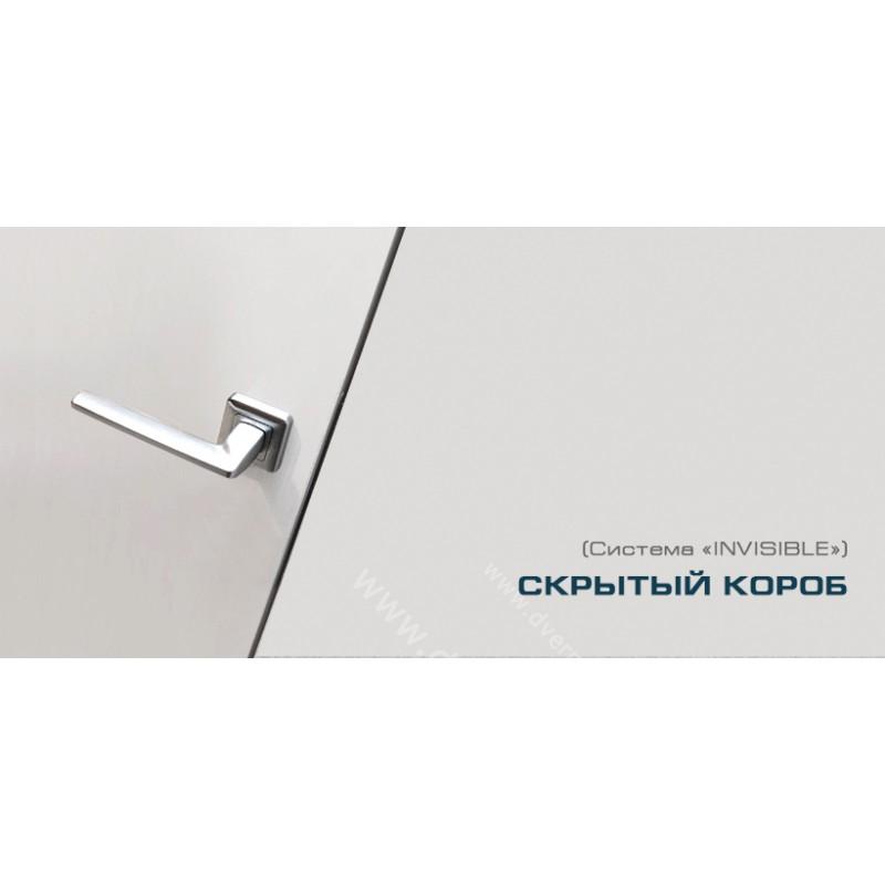 Дверь невидимка 0Z c алюминиевой кромкой