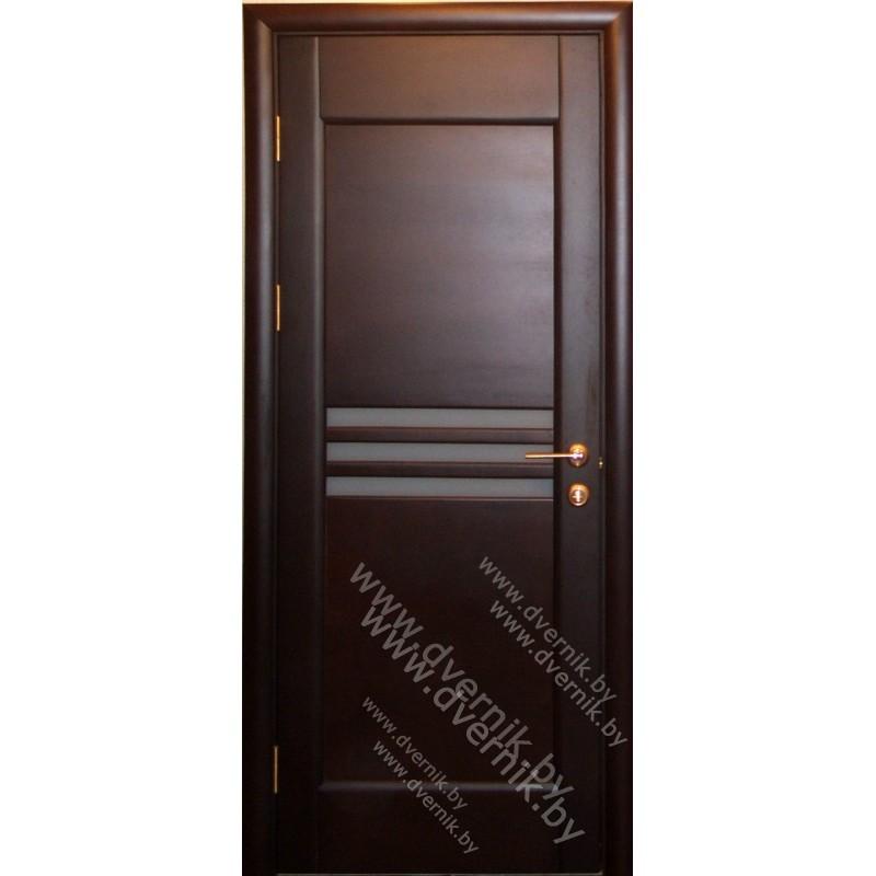 """Межкомнатная дверь из массива """"Стандарт""""-11"""
