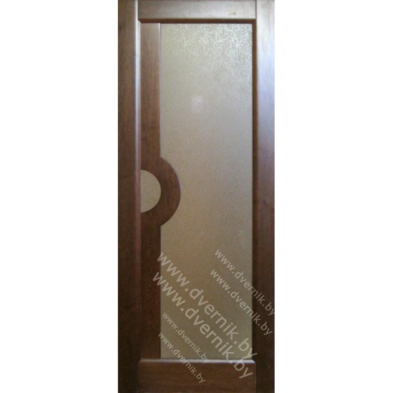 """Межкомнатная дверь из массива """"Стандарт""""-17"""
