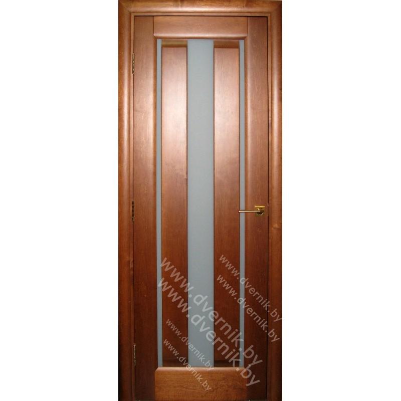 """Межкомнатная дверь из массива """"Стандарт""""-19"""