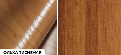 Матовые древесные - ольха тисненая