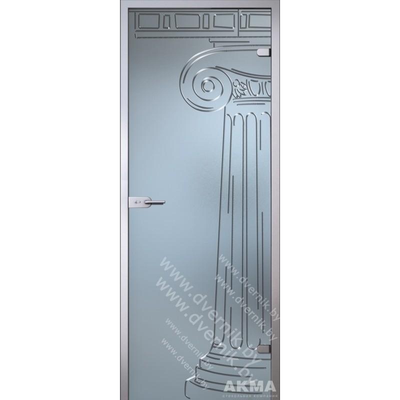 """Межкомнатная стеклянная дверь """"Капитель"""""""