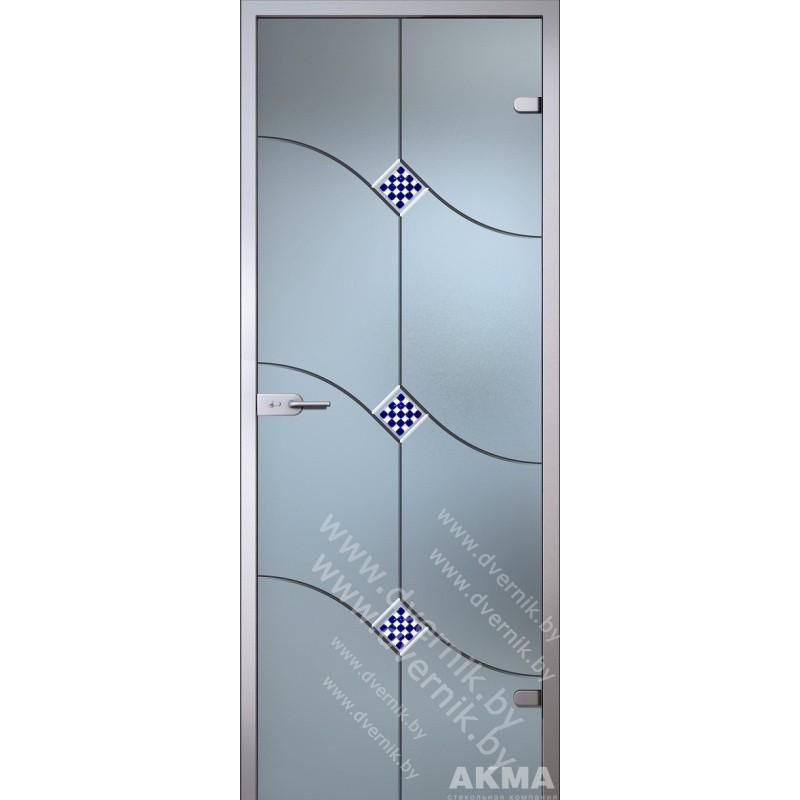 """Межкомнатная стеклянная дверь """"Патриция"""""""