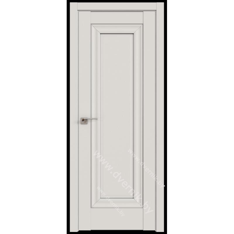 Белая дверь UNILACK Profil doors 23U