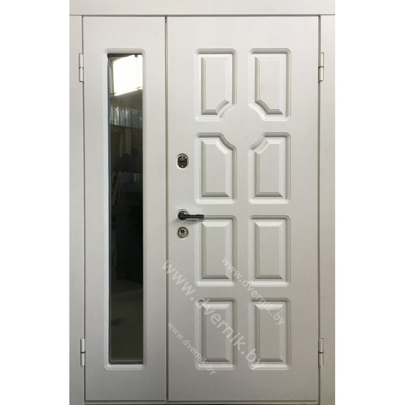 Входная двухстворчатая металлическая дверь К-65-ДВ