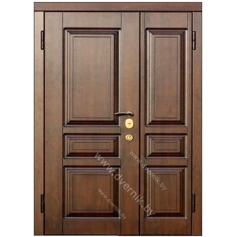 Входная двухстворчатая металлическая дверь К-29-ДВ