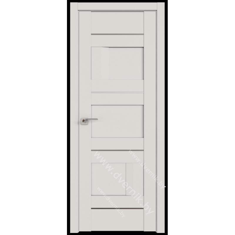 Белая дверь UNILACK Profil doors 38U