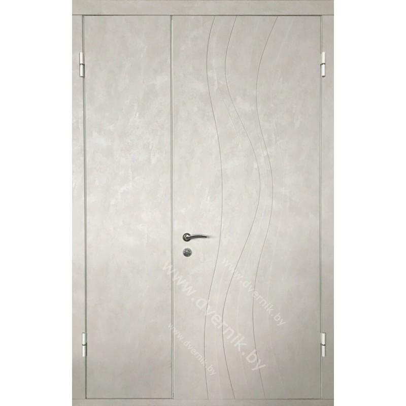 Входная двухстворчатая металлическая дверь М-12-ДВ