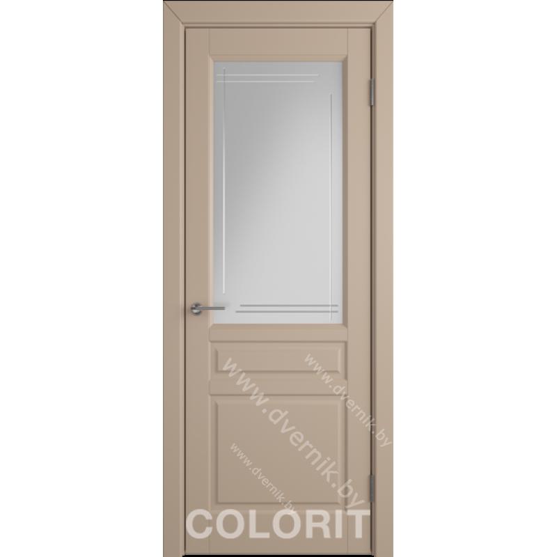 Дверь К2 COLORIT ДО латте