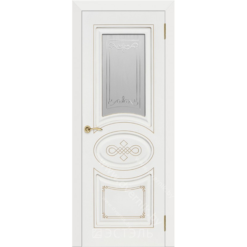 Межкомнатная дверь эмаль Бьянка ДО