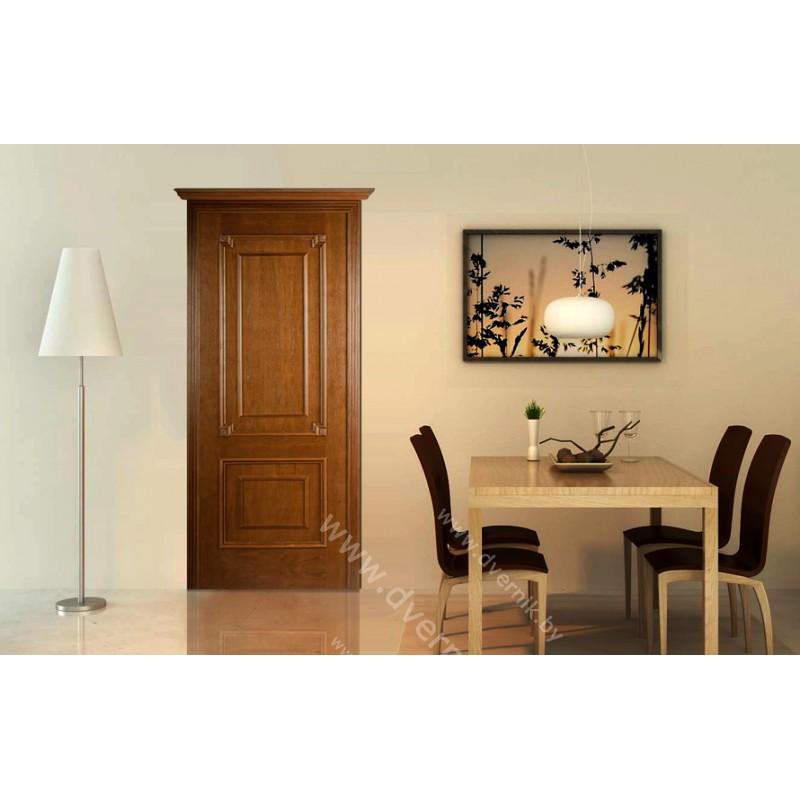 Межкомнатная дверь Беарриц ПГ в интерьере