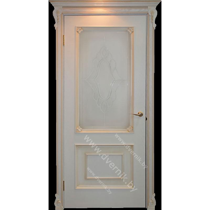 Межкомнатная дверь грандмодерн Авелана ПО