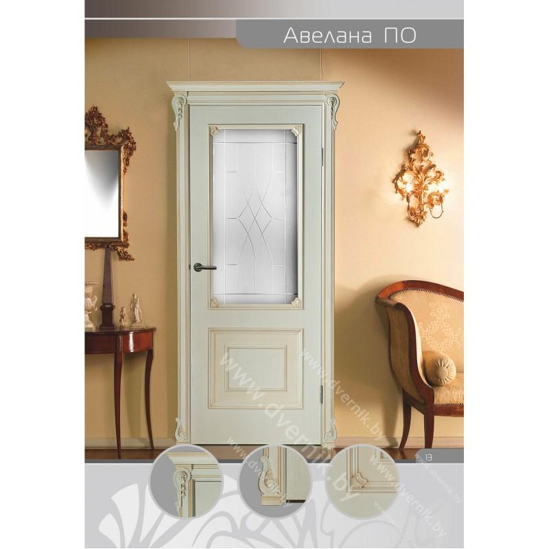 Межкомнатная дверь Авелана ПО в интерьере