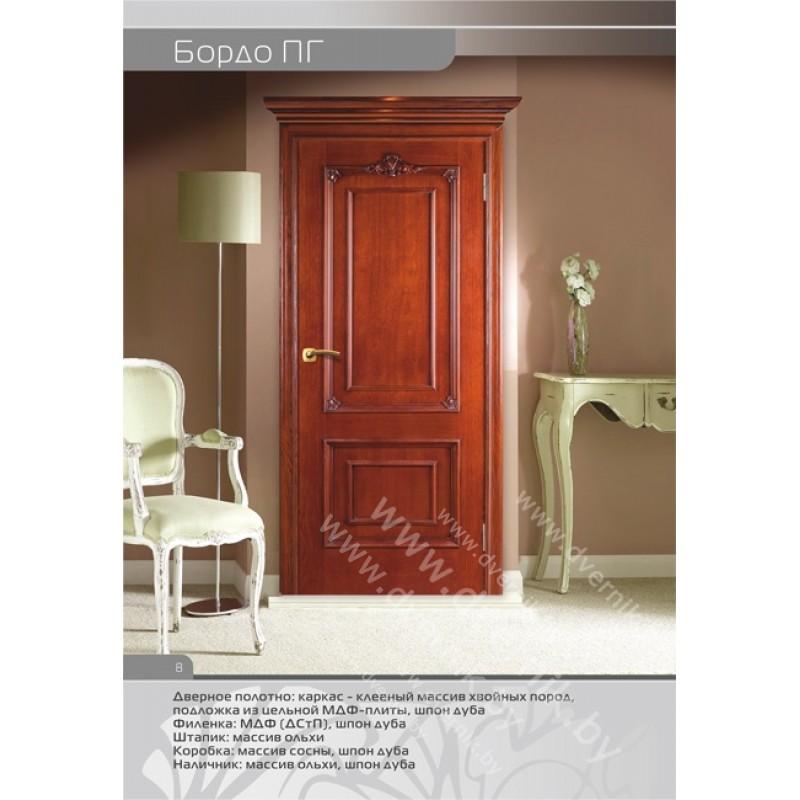 Межкомнатная дверь Бордо ПГ в интерьере