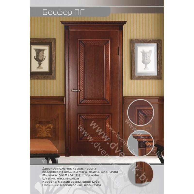 Межкомнатная дверь Босфор ПГ в интерьере