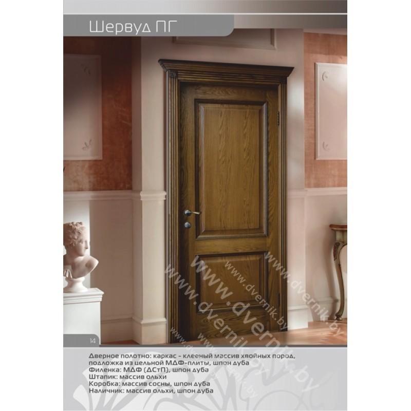 Дверь Шервуд  ПГ в интерьере