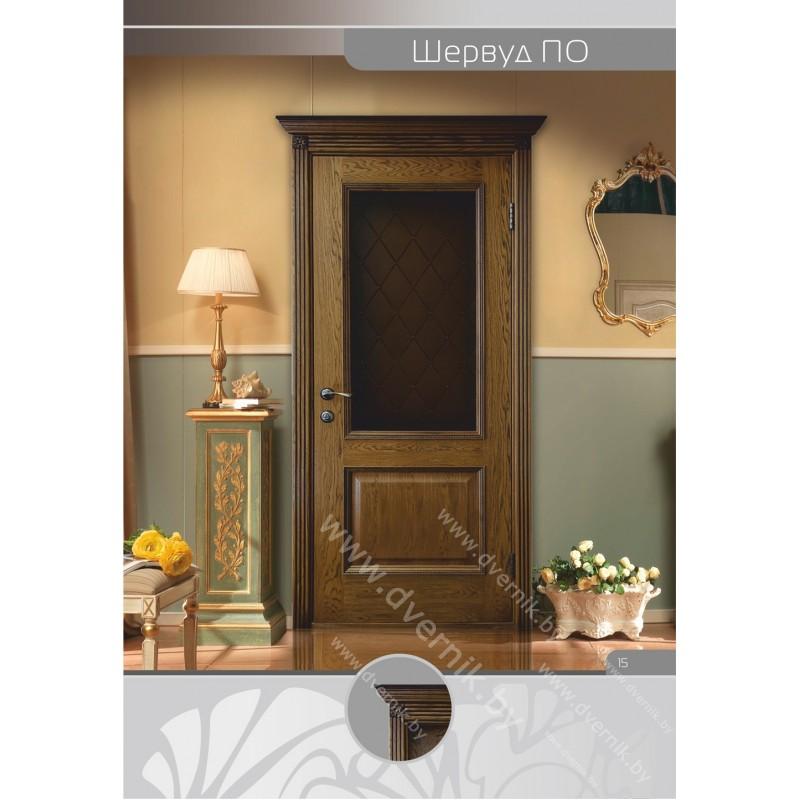 Дверь Шервуд  ПО в интерьере