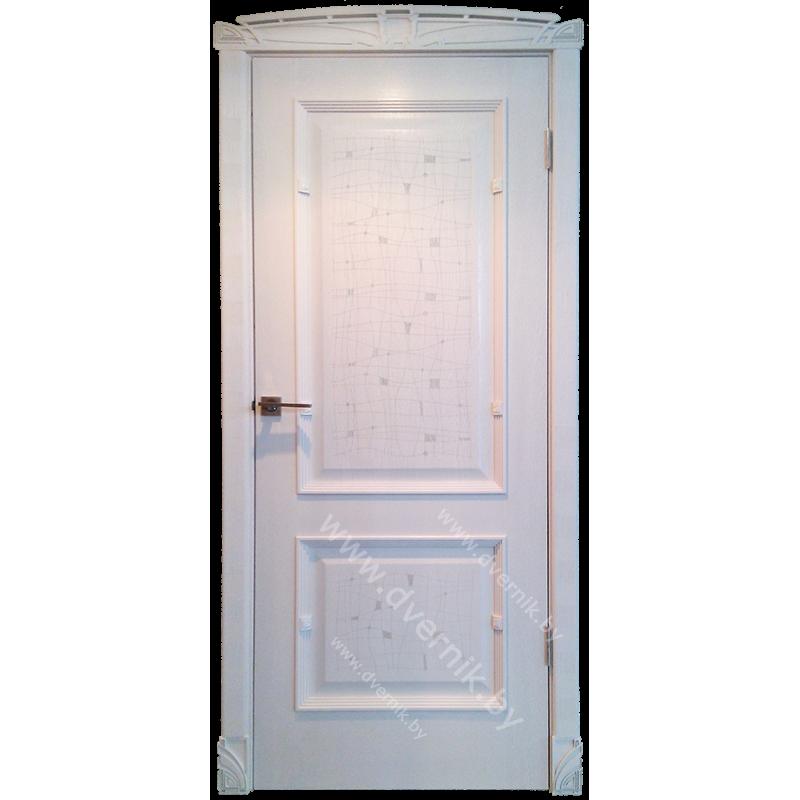 Межкомнатная дверь грандмодерн Лотос ПГ