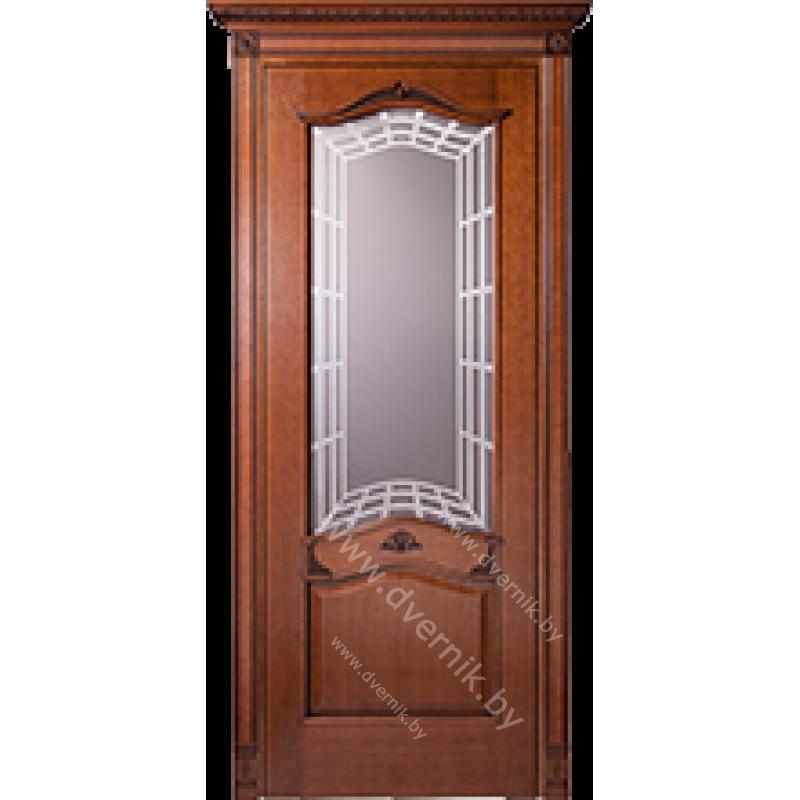 Межкомнатная дверь грандмодерн Медео ПО