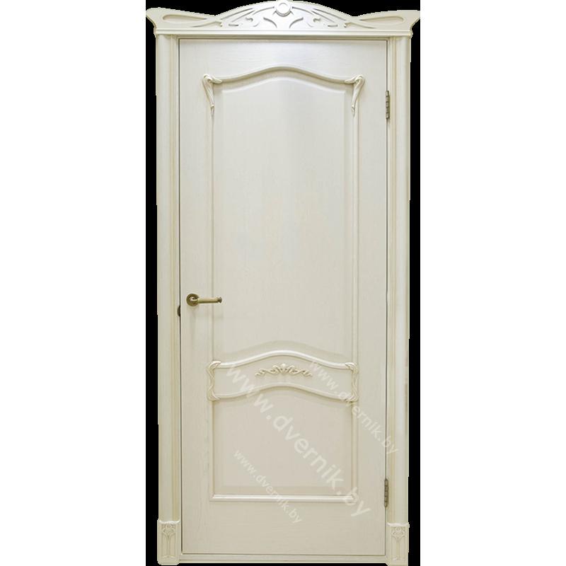 Дверь грандмодерн Янтарь белый ПГ