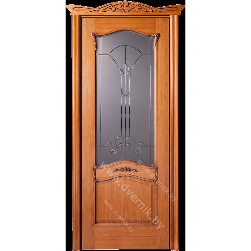 Межкомнатная дверь грандмодерн Янтарь ПО