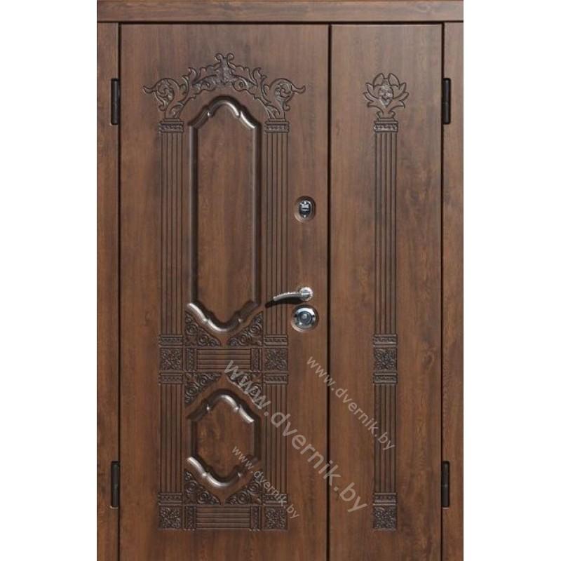 Входная двухстворчатая дверь ХК-6-ДВ
