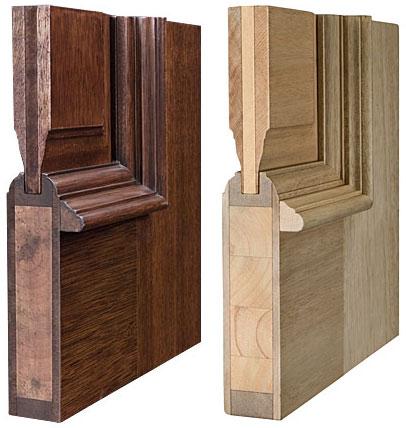 Конструкция дверного полотна дверей Грация